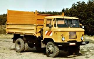 Самосвал ГАЗ-САЗ-3511 на базе ГАЗ-66: технические характеристики, устройство, фото и видео