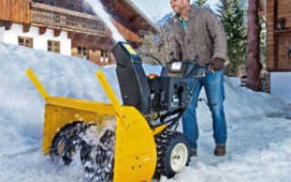 Как выбрать бензиновый снегоочиститель?