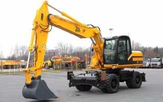 JCB 160: технические характеристики, позиции на рынке
