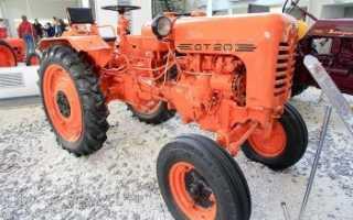 Трактор ДТ 20 «Гусеничный»: Технические характеристики. Топтехник