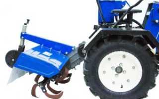 Почвофреза для минитрактора, её устройство и преимущества