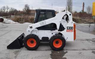 Мини-погрузчик Bobcat S300. Характеристики, цены и аналоги