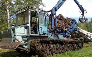 Трелевочный трактор — Модельный ряд . Легенды СССР