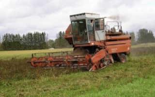 Зерноуборочный комбайн Енисей-1200: модификации, технические характеристики, устройство, схема, фото и видео