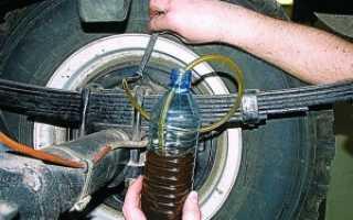 Прокачка тормозов УАЗ Буханка: Как последовательно прокачать тормоза. Топтехник