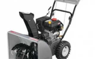 Бензиновый снегоуборщик Craftsman 88172: устройство, технические характеристики, фото и видео