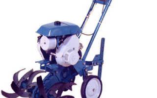 Мотоблок «Крот»: Технические характеристики