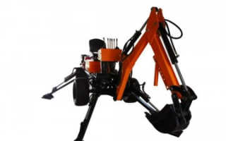 Обзор мини-экскаваторов прицепного типа: landformer, hbp 9, Powerfab, Mini Digger