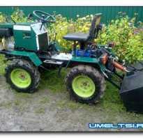 Самоделки из тракторов