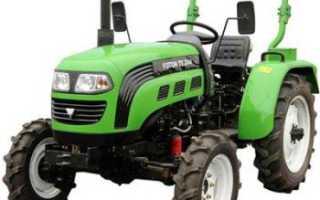 Трактор Фотон (Foton) — модели их технические характеристики