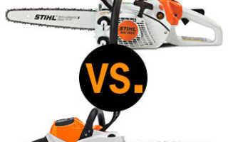 Что лучше – электропила или бензопила?