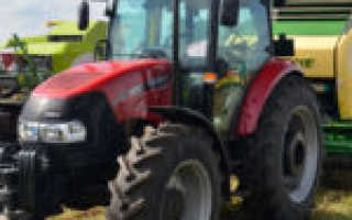 Трактор Case IH Farmall JX 110 — универсал европейского уровня