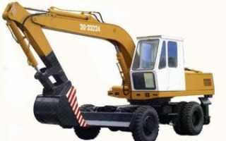 ЭО 3323: габариты и технические характеристики экскаватора; сколько весит ЭО 3323