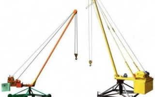 Подъемники (стреловые краны) Пионер: технические характеристики, устройство, фото