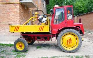 Модификации и технические характеристики трактора Т-16: коробка передач, шасси и фото