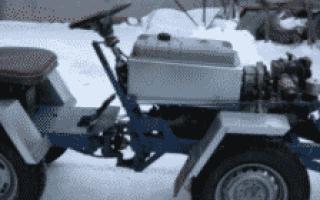 Самоделки минитракторов — 1 по тракторам
