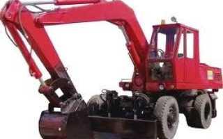 Технические характеристики экскаватора ЭО-3322: гидравлическая схема, двигатель, устройство, рабочее оборудование, фото и видео