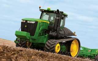 Трактора «Джон Дир» (John Deere) — Устройство и технические характеристики