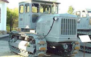 Трактор Т-100: технические характеристики