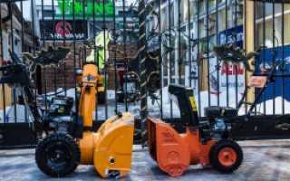 Бензиновые и электрические снегоуборщики Прораб (Prorab): характеристики, фото и видео