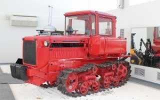 Трактор ДТ 75: описание, технические характеристики, устранение неполадок, фото, видео
