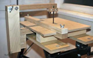 Электролобзик в столе — Zerkalov Studio
