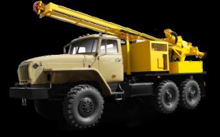 Характеристики, фото и видео буровых установок на базе Урал 4320: УРБ 2А2 и УРБ 2Д3