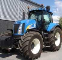 Универсальный трактор New Holland T8040 — мощность и надежность в импортном варианте