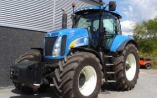 Технические характеристики моделей тракторов Нью Холланд: Т8040, Т8.390, Т8.360, Т8020
