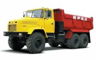Фото, видео и технические характеристики самосвалов КрАЗ: 6х4, 6х6, 8х4 и новые модели