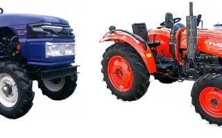 Надежные мини-трактора Булат от китайского завода