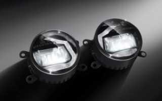 Особенности монтажа светодиодных противотуманных фар
