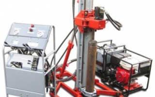 Характеристики малогабаритных буровых установок Термит: УМБР-3, МГБУ-400, МГБУ-800, МГБУ-2000