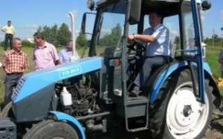 Трактор ХТЗ-3512 – компактная техника с универсальными свойствами