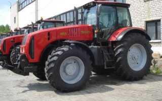 Трактор МТЗ-3522 – функциональный и производительный для проведения работ повышенной сложности