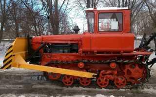Бульдозер ДТ-75 — Технические характеристики. Топтехник.ру
