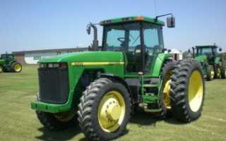 Трактор John Deere 8400 — модель из прошлого века с современными характеристиками