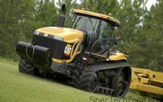 Гусеничный трактор Challenger его технические характеристики