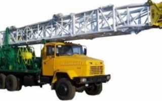 Буровая установка УПА-80: технические характеристики, назначение, конструкция, модификация