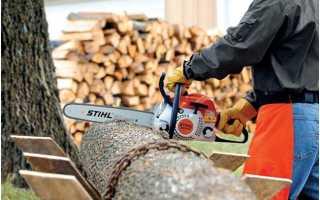 Бензопилы для заготовки дров
