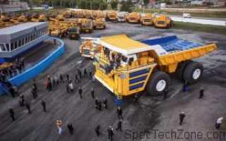 БелАЗ 75710 с грузоподъемностью 450 тонн: технические характеристики, размеры, цена, фото