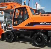 Экскаватор Doosan 180W-V. Технические характеристики, цены и аналоги