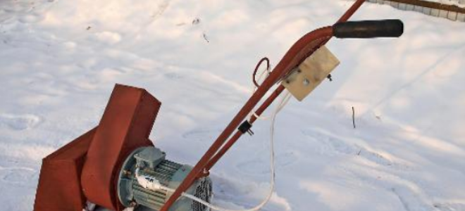 Снегоуборщик из культиватора – в чем суть переделки?