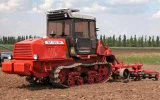 Обзор гусеничного трактора ВТ-150: устройство, технические характеристики, фото и видео