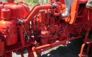 Устройство двигателя трактора Т-25