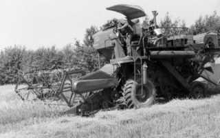 Зерноуборочный комбайн СК-4: технические характеристики, устройство, фото и видео