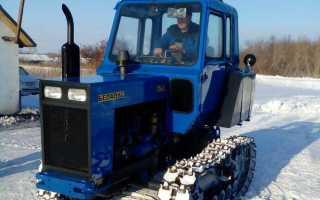 Гусеничный трактор КТЗ Т-70: устройство, технические характеристики, фото и видео