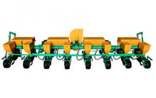 Сеялка точного высева СТВ 8КУ: технические характеристики, цена, отзывы, видео, фото