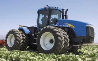Трактора Нью Холланд (New Holland) — модели, характеристики
