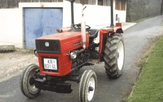 Компактный румынский трактор Universal 445 v